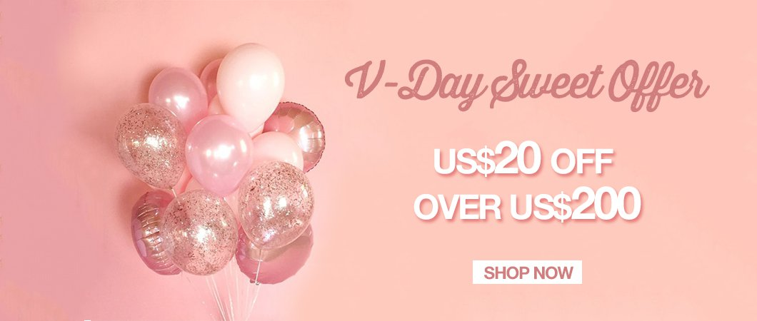 V-day sweet offer