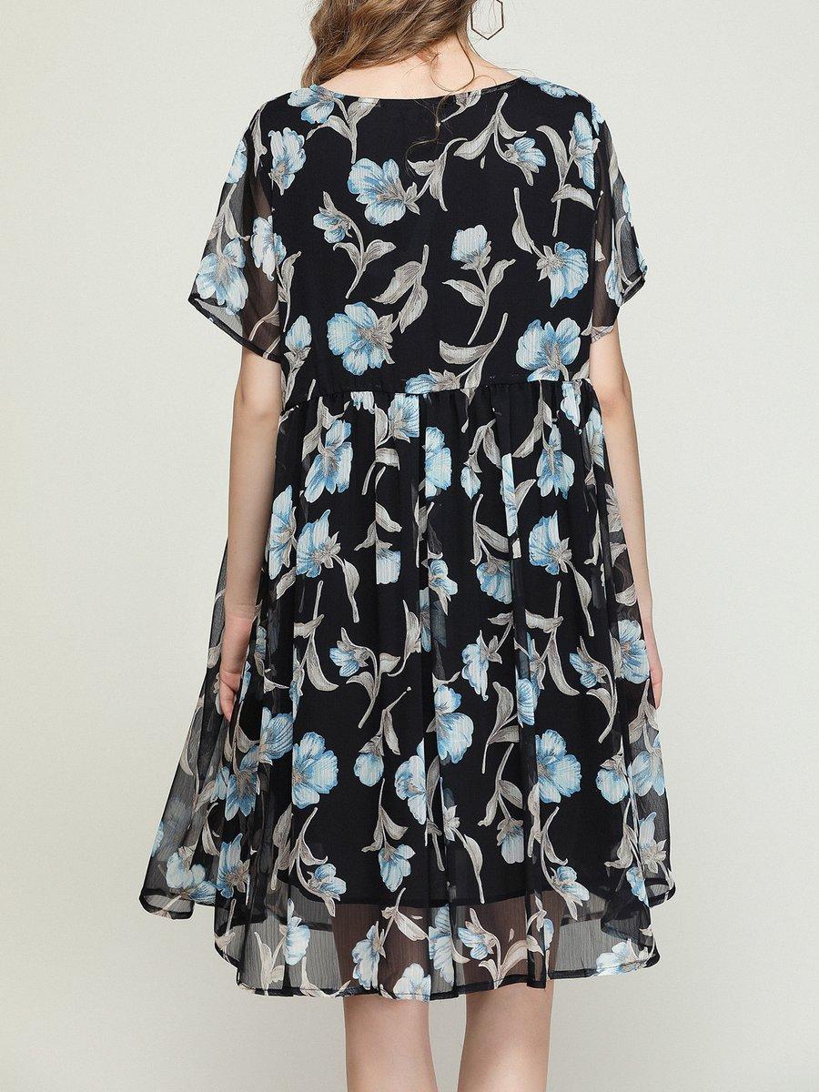 Black Midi Beach Dress