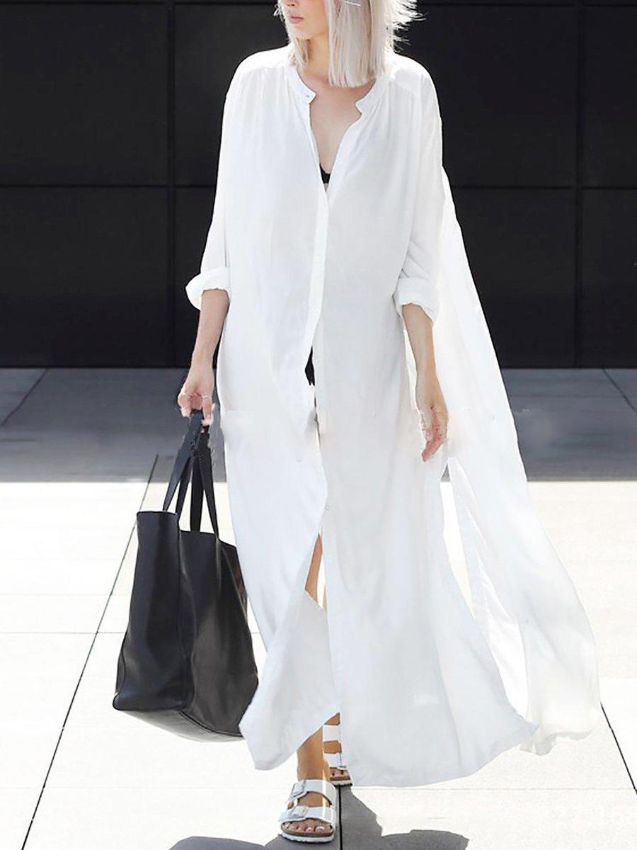 47748bb2e295d Beach Maxi Dresses White