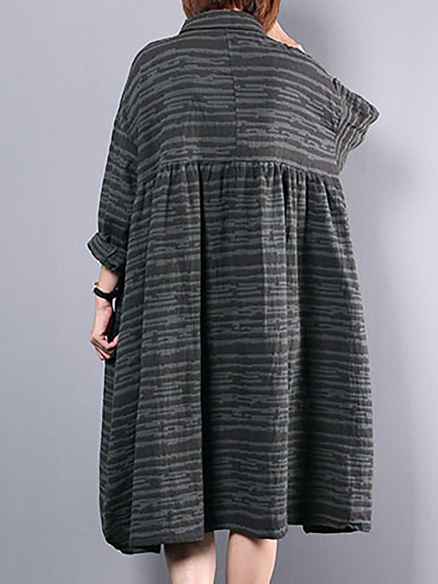 fad2324c582 LOOK BOOK. 44797. Quick Shop. 23488. Quick Shop. 23488. Quick Shop. 96215.  Quick Shop. VIVIDLINEN Daily Casual Striped Long Sleeve Linen Dress