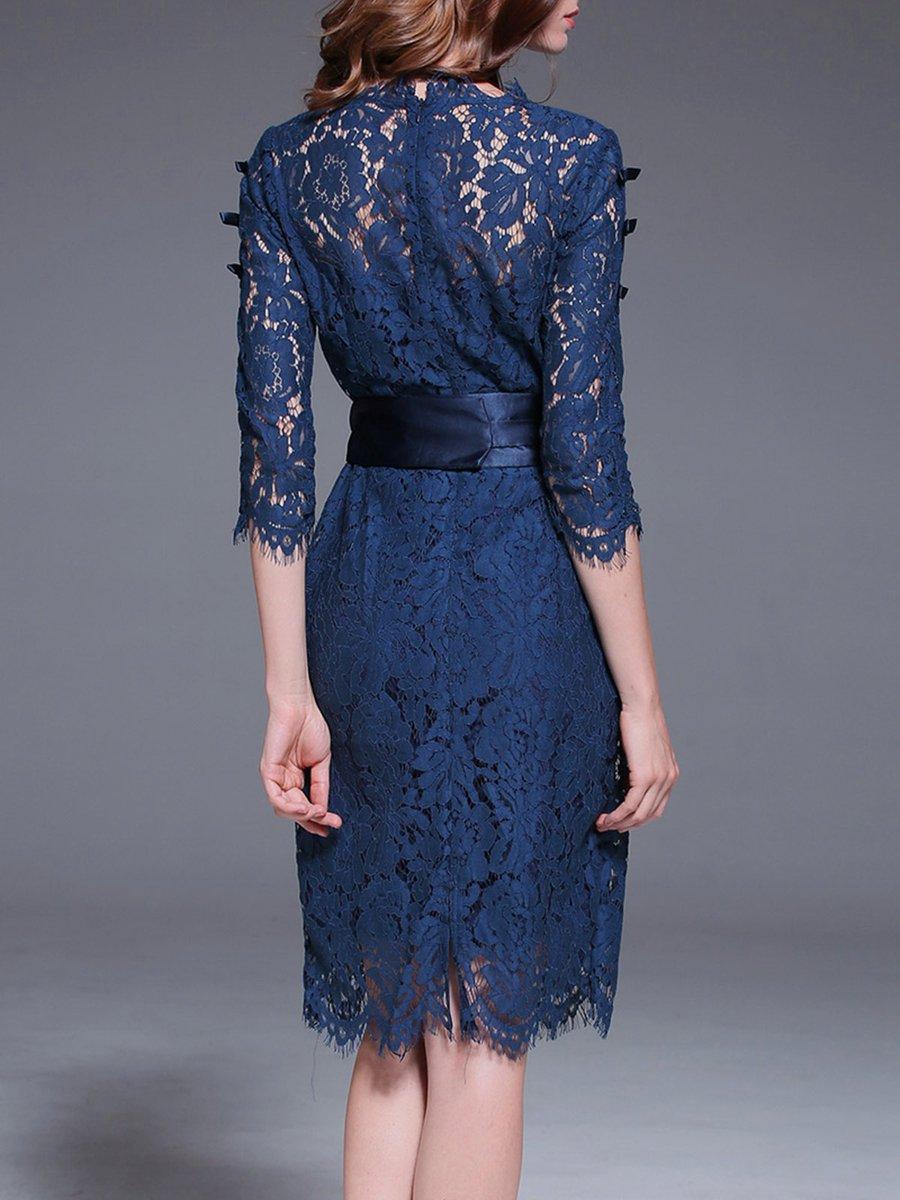 Stretch kleid elegant