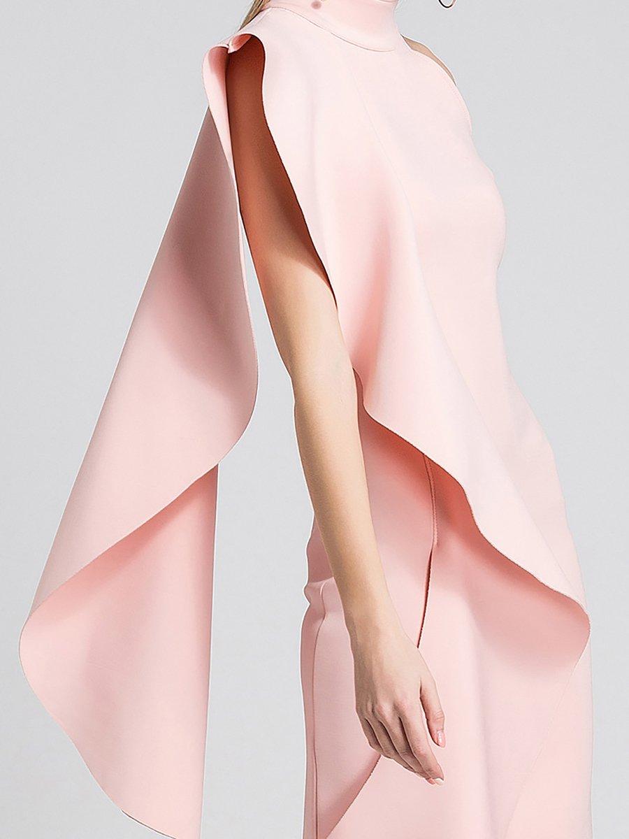 2380d5eecae1 Stylewe Formal Dresses Sundress Daily Sheath Stand Collar Sleeveless ...