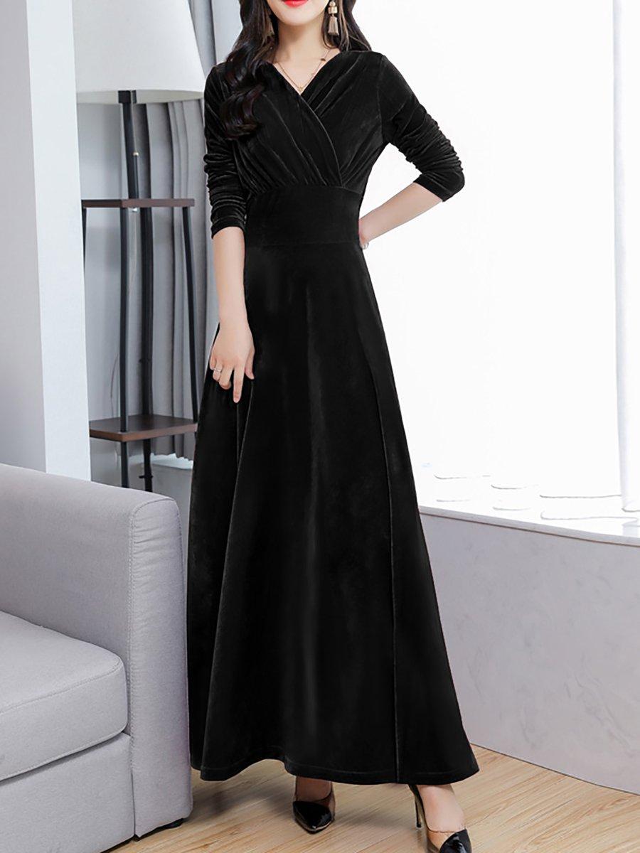 258edbc75c6 Long Sleeve Party Maxi Dresses - Data Dynamic AG
