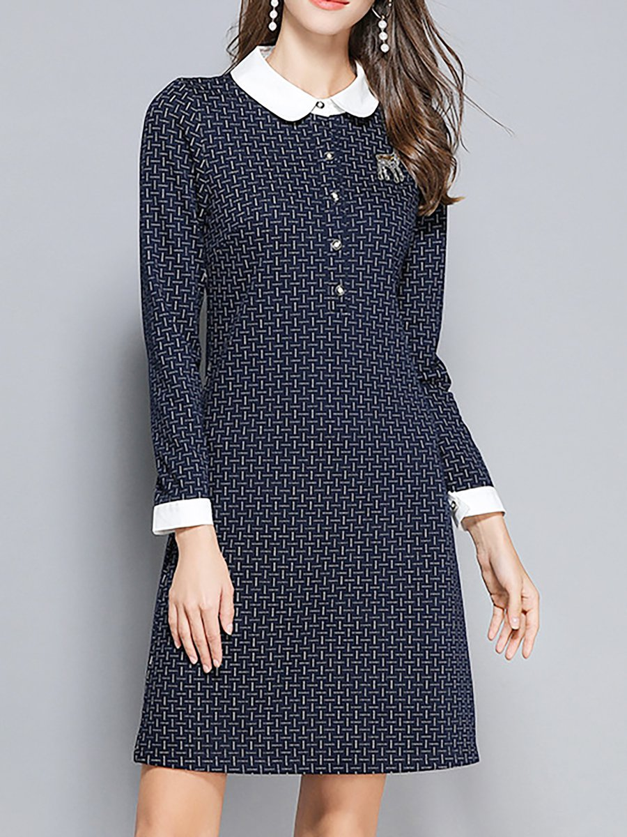 Stylewe Summer Dresses Long Sleeve Casual Dresses Daily A Line Peter