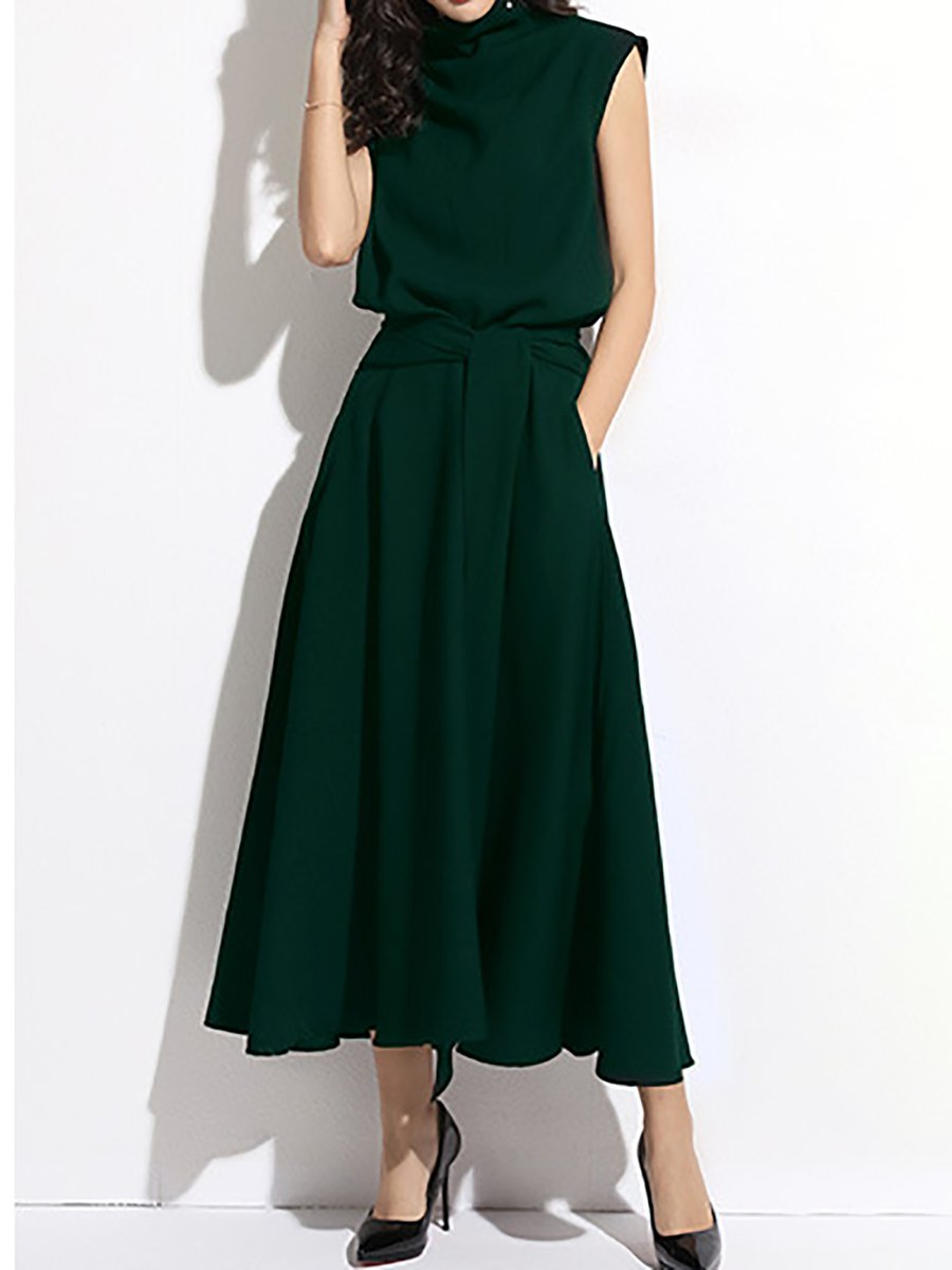 d97991a4be0a Stylewe Party Dresses Summer Dresses Daily A-Line Turtleneck ...