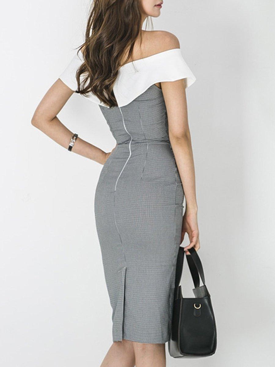 16495807262e Stylewe Formal Dresses Summer Dresses Work Bodycon Off Shoulder ...