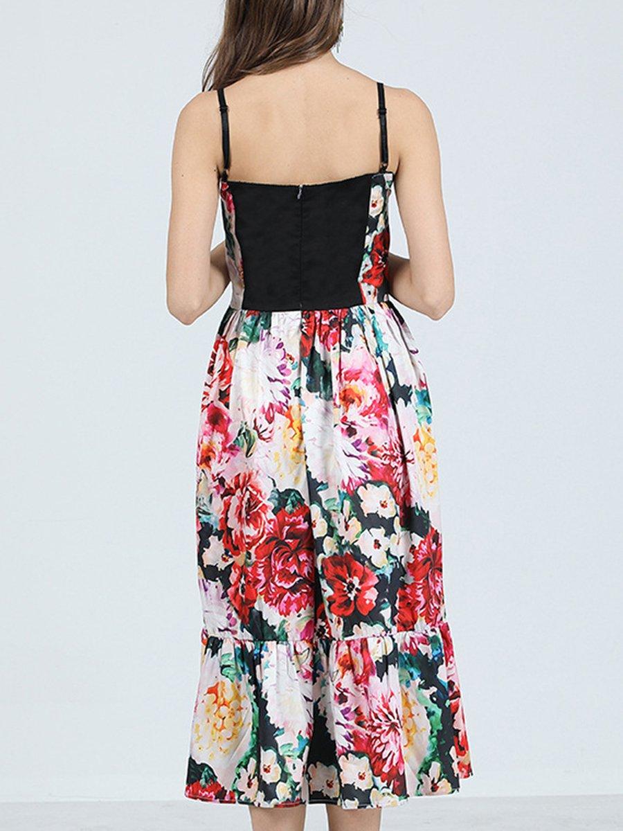 48ccca6048b1 Stylewe Summer Dresses Off The Shoulder Date A-Line Cold Shoulder ...