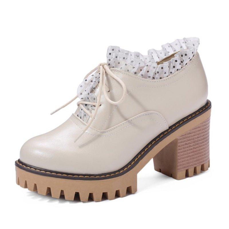 e904fce0488 Daily Chunky Heel Round Toe Boots