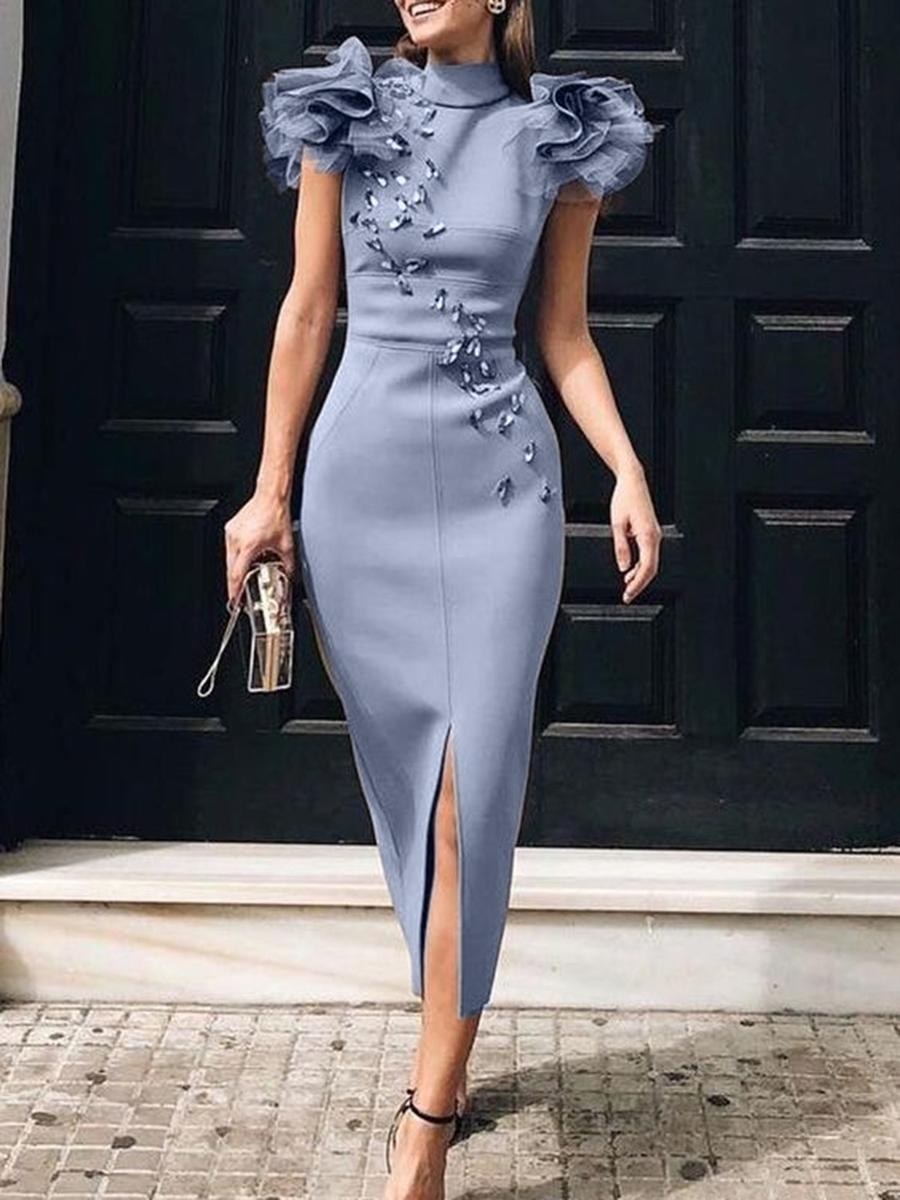 Online ireland bodycon elegant cocktail midi dress tall sizes
