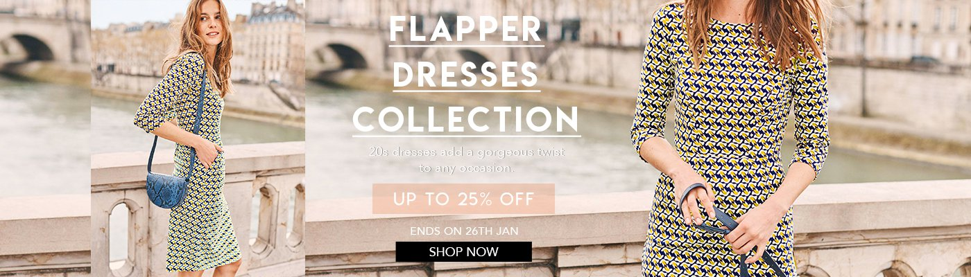 Flapper dresses collection