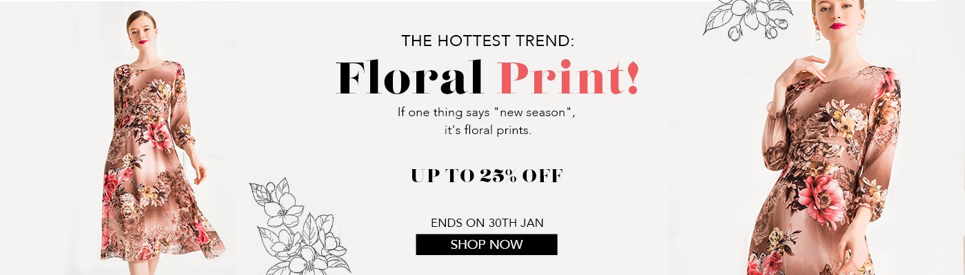 The Hottest Trend: Floral Print!