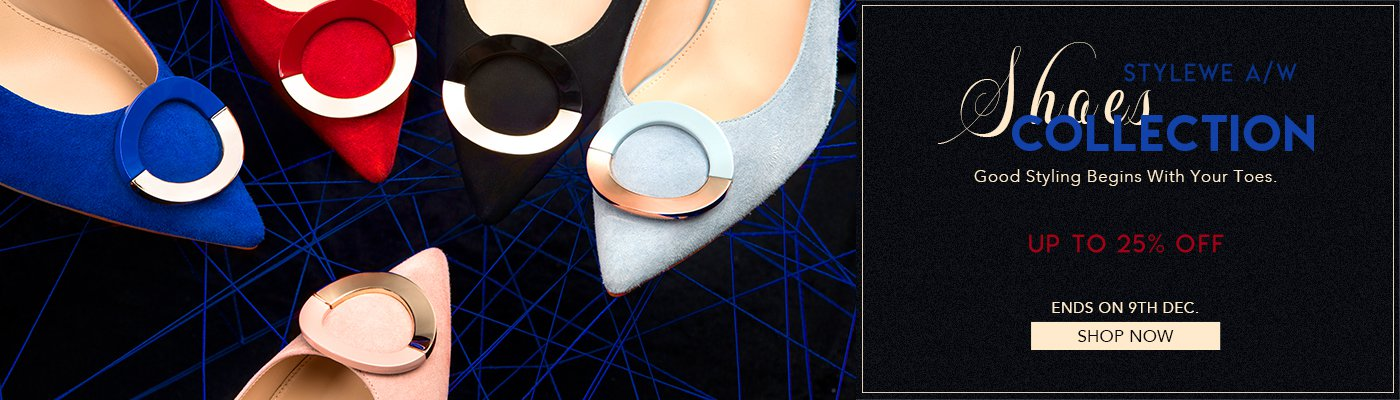 STYLEWE A/W SHOES Collection