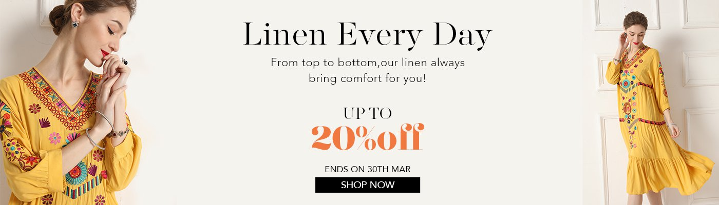 Linen every day-flash sale