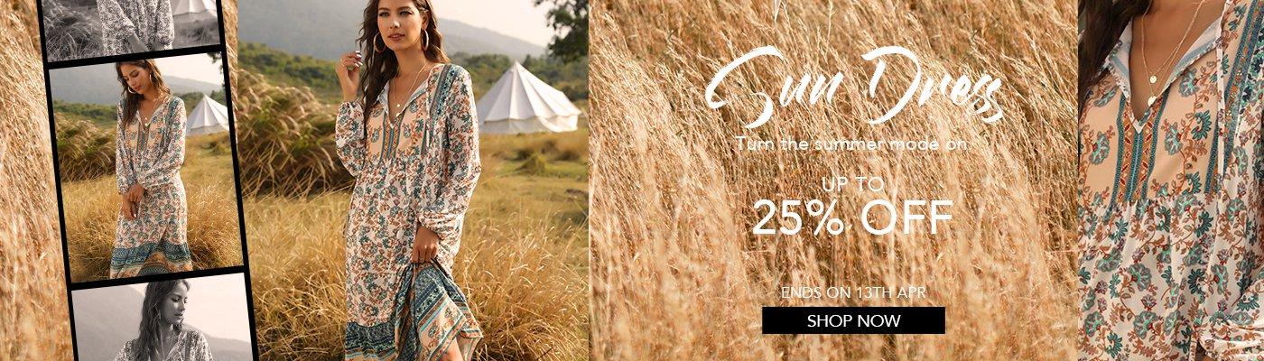 Sun Dress-flash sale
