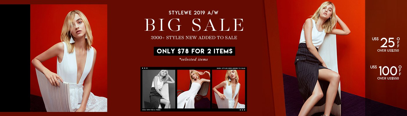 STYLEWE 2019 A/W BIG SALE