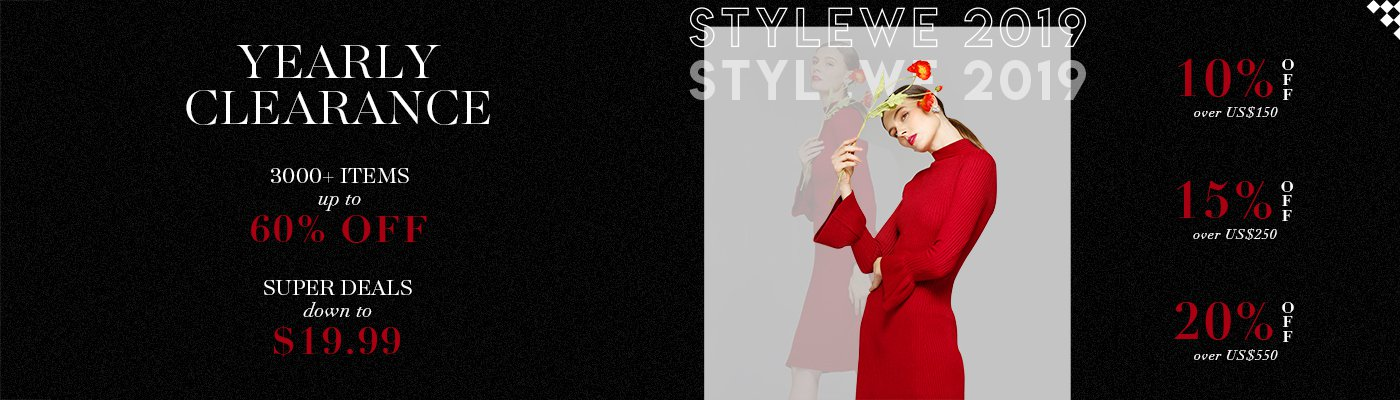 STYLEWE 2019 Yearly Clearance