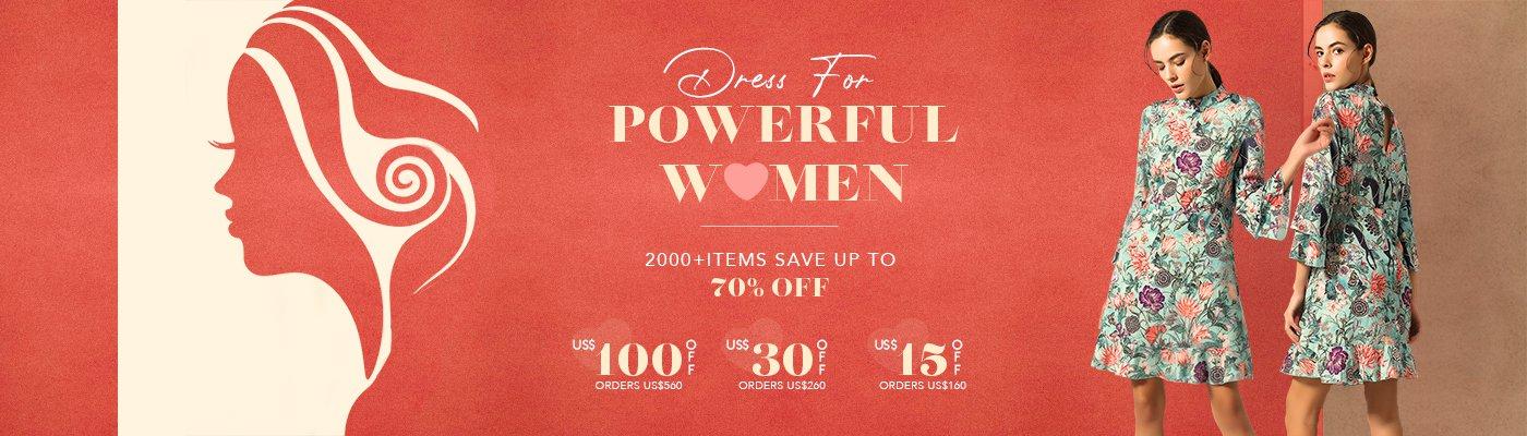 DRESS FOR POWERFUL WOMEN