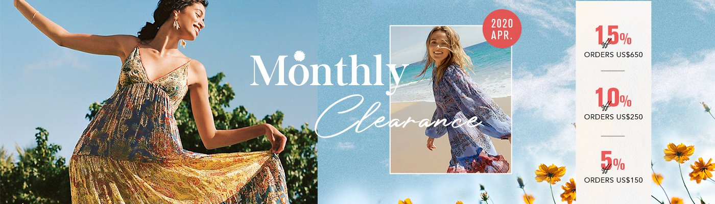 2020 Apr. Monthly Clearance