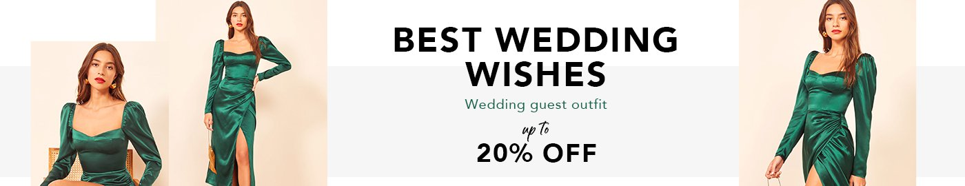 Best wedding wishes Wedding guest outfit