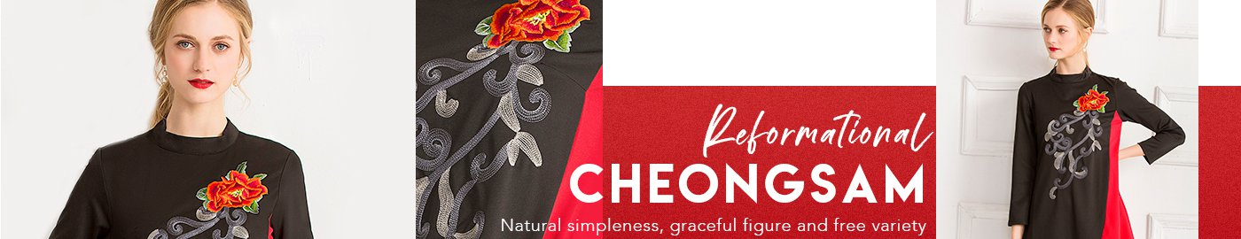 Reformational Cheongsam
