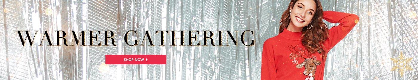 Warming gathering