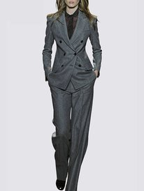 Work Coat with Pants Two-Piec...