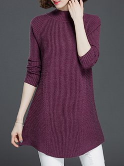 Pastel Purple Sweater - Shop Online | Stylewe