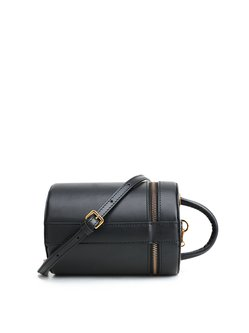 Cowhide Leather Mini Magnetic Statement Crossbody