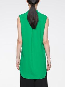 Polyester Sleeveless Casual Tunic