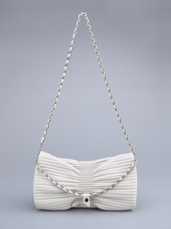 Fold-over Flat Top Casual Medium Shoulder Bag