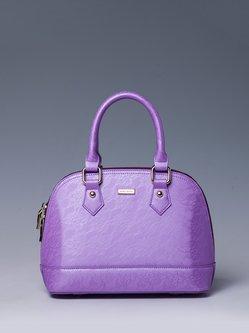 Purple Small Casual Tote