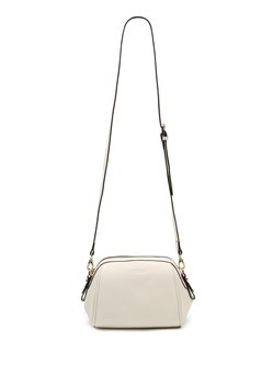 Zipper Small Cowhide Leather Casual Crossbody