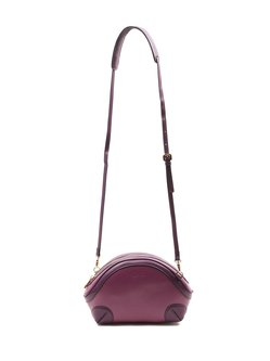 Zipper Cowhide Leather Small Casual Crossbody