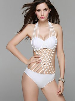 Cut-outs Padded One-Piece