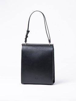 Fold-over Flat Top Medium Casual Shoulder Bag