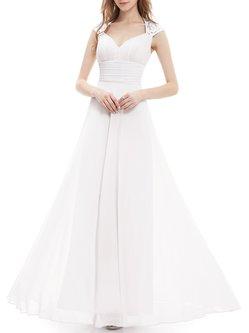 Ruched Sweetheart Elegant Sleeveless Satin Evening Dress