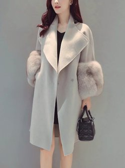Elegant Long Sleeve Coat