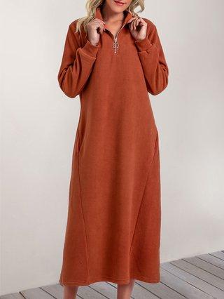 Stylewe Shirt Dress Long Sleeve Casual