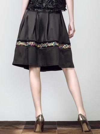 Gem Embellished skirt
