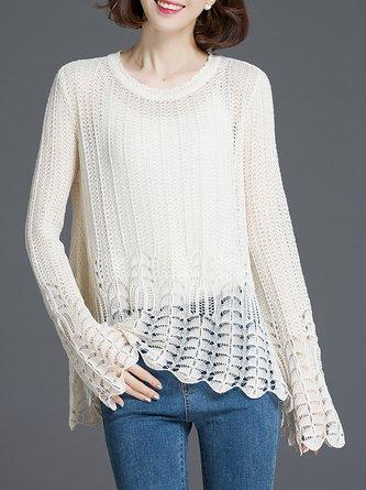 Loose Crochet Sweater Shop Online Stylewe