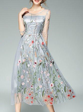 Tea Length Dresses Affordable Designer