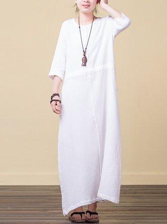 f0172673bb Plain Linen Dresses - Shop Affordable Designer Linen Dresses for ...