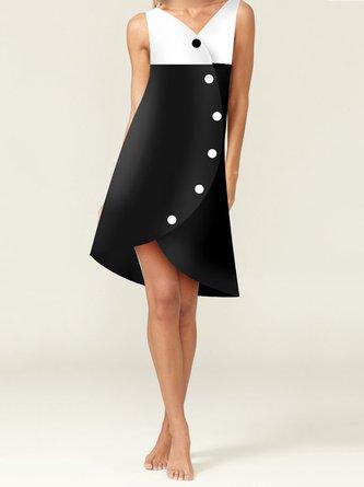 Sleeveless Date Elegant Midi Dress
