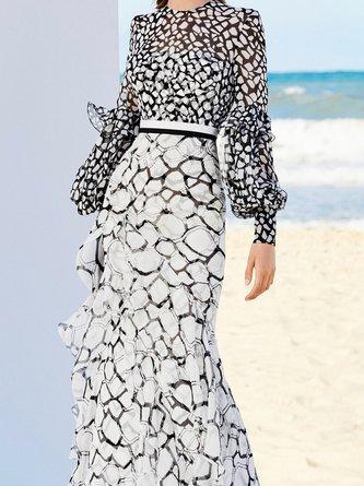 Swing Prom Elegant Maxi Dress