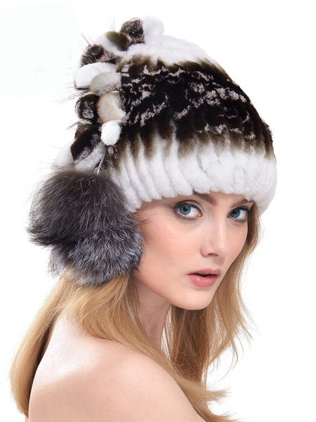 Faux Fur Casual Hat
