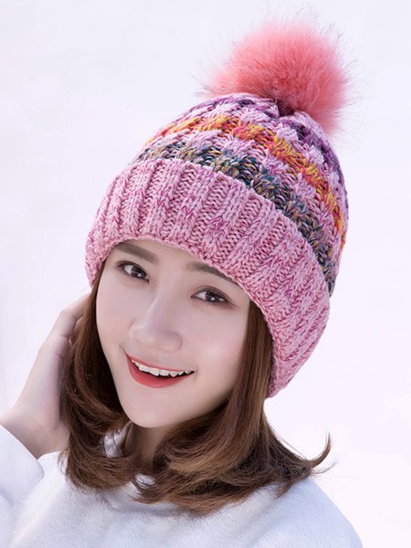 Casual Faux Fur Hat