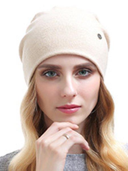 Plain Cashmere Hat