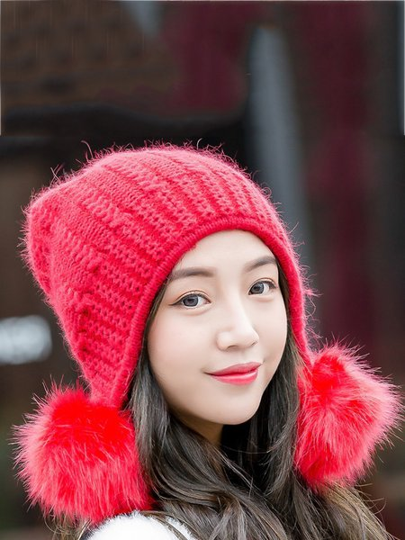 Acrylic Solid Casual Hat