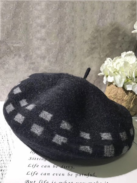 Casual Wool Blend Hat