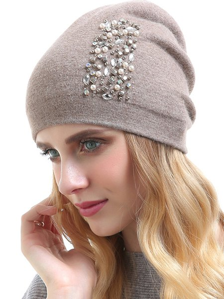 Cashmere Casual Hat